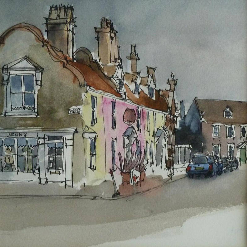 Sara Johnson  Earsham Street Bungay 16.5 x 16.5