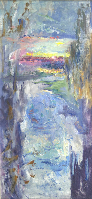 Margaret Thomas   My View   44 x 24cm