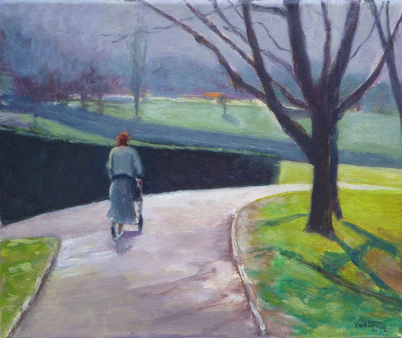 Early Spring 30x25cm