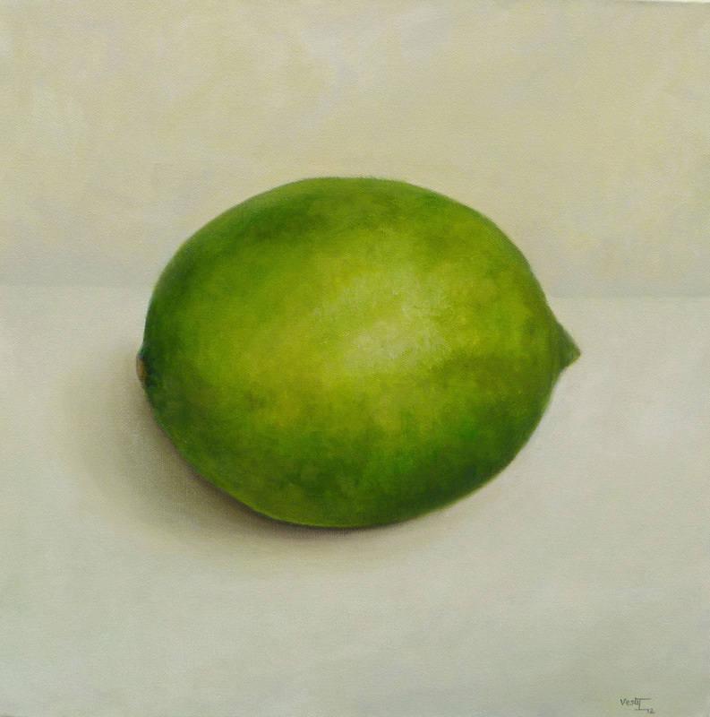 Lime 2012 oil 40x40cm