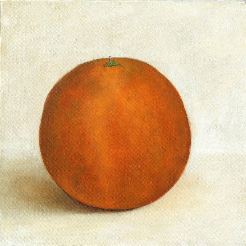 Orange  oil  40x40cm