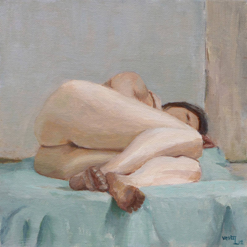 Sleeper oil 20x20cm