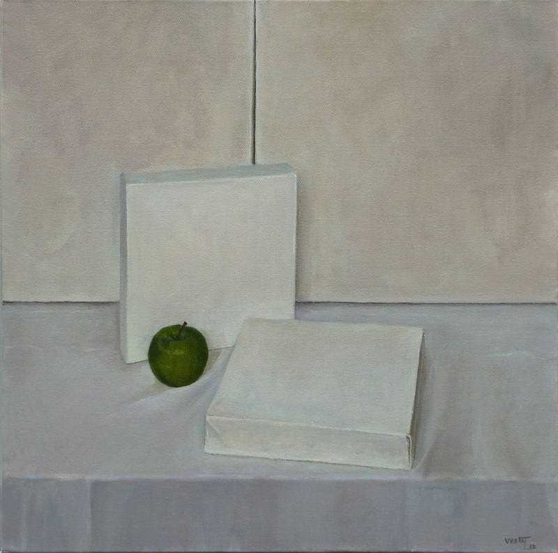 Still life on a Blank Canvas 40x40cm