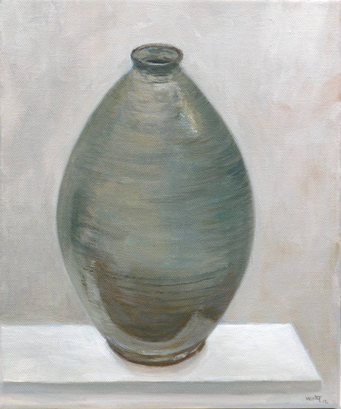 The Green Vase 30 x 25cm