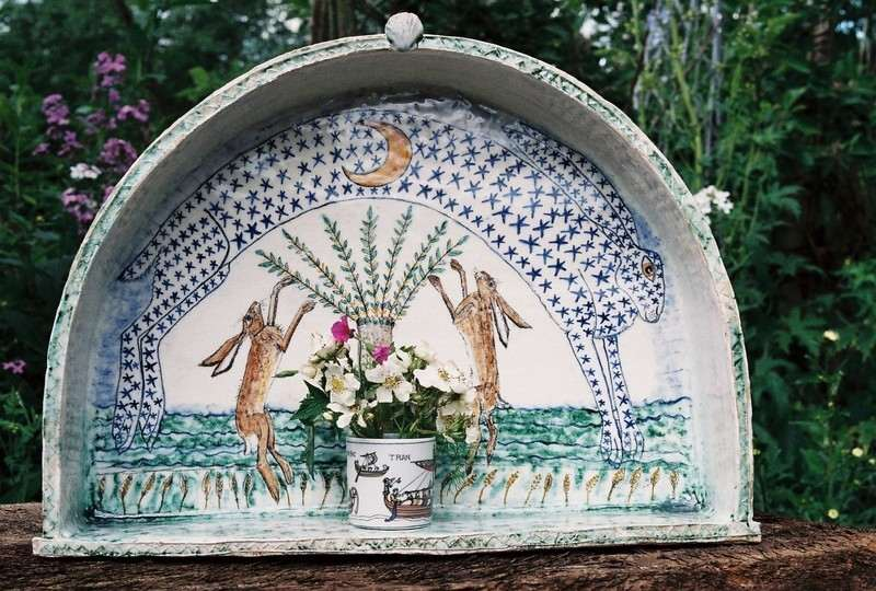 shrine for the hares stoneware