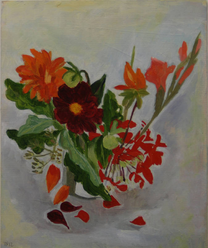Red Bunch  Tessa Newcomb  24x20cm
