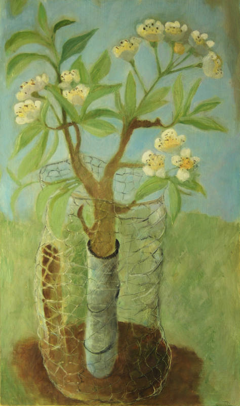Young Trees  Tessa Newcomb   51x30