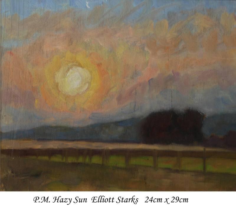 PM hazy sun