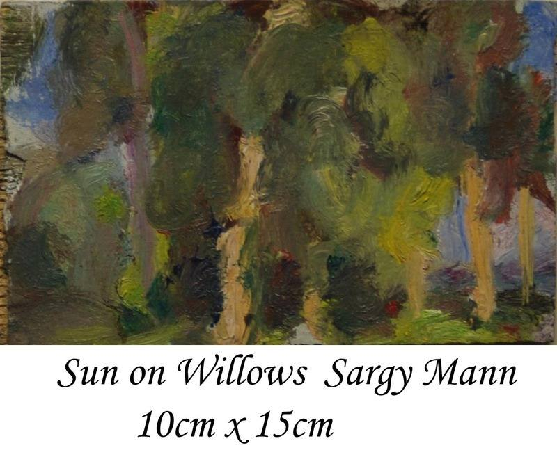 Sun on Willows