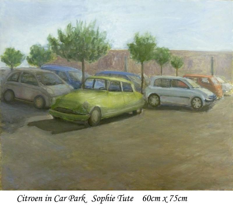 Citroen in car park