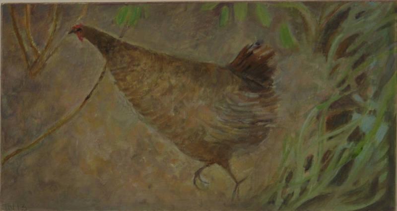Urgent Chicken 11 x 21cm