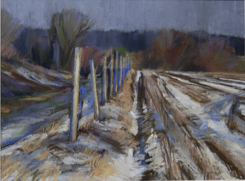 The last of the Snow 38x52cm