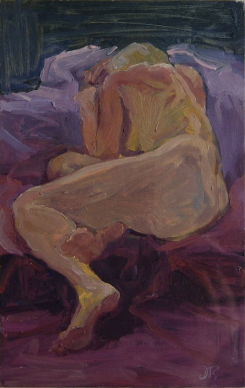Figure in Studio 2 Delia Tournay-Godfrey 34x22cm