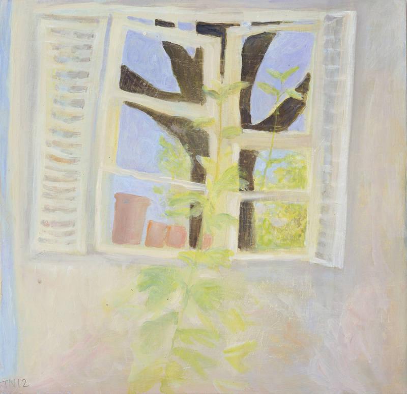 Window reflecting the sky TN 23x24