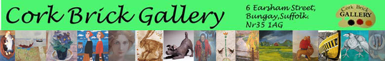 Cork Brick Gallery, site logo.