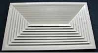 CVLFDD4-1195 Double Tile 4-Way Blow Ceiling Diffuser