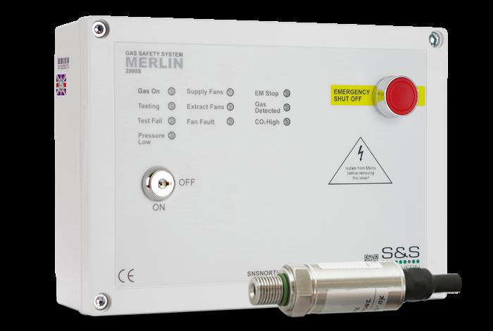 Merlin 2000S Gas Interlock Panel