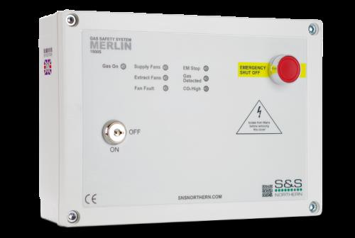 Merlin CT1500S Gas Interlock Panel