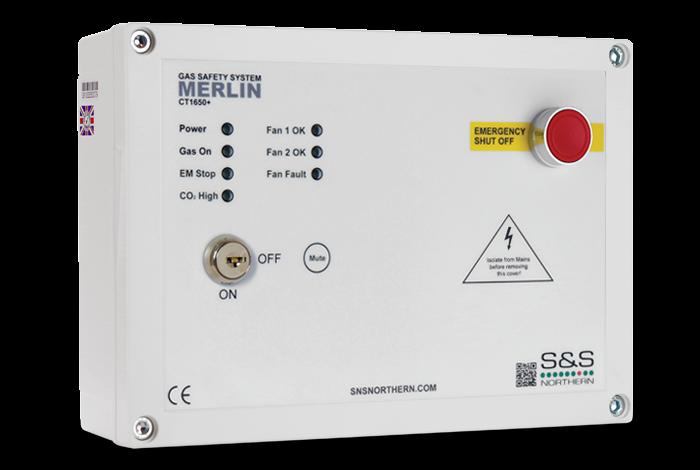 Merlin CT1650 PLUS Gas Interlock Panel