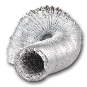 Aluminium Flexible Ductwork (Non Insulated)
