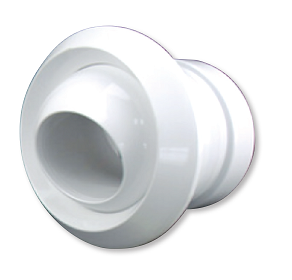 CVJND160 - Jet Nozzle Diffuser - White