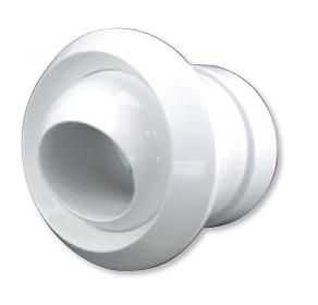 CVJND250 - Jet Nozzle Diffuser - White