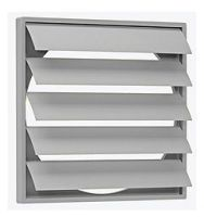 CVWSK-10 Gravity Louvre Shutter 150mm Wide x 150mm High x 22 Thick - OUT OF STOCK PLEASE CALL FOR ALTERNATIVE