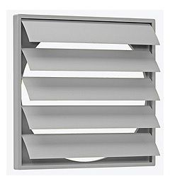 CVWSK-15 Gravity Louvre Shutter 200mm High Wide x 200mm x 22 Thick