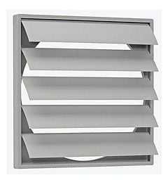 CVWSK-50 Gravity Louvre Shutter 550mm High Wide x 550mm x 31 Thick