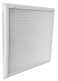 CVFMEG-600 Flush Mounting Egg Crate Grille - MADE TO ORDER 5 WORKING DAYS -