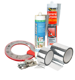 Tape Clips Banding Sealant (Ducting Accessories)