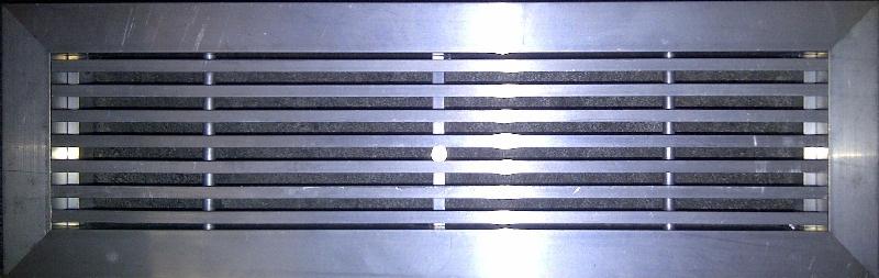 CVLDF Floor Grille Mill Aluminium (Unpainted)