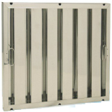 CVSBBF5 495mm W x 495mm H x 48mm T Standard Baffle Filter