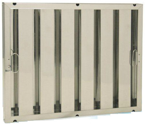 Stainless Steel Heavy Duty Baffle Filter