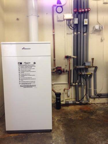 oil boiler 2