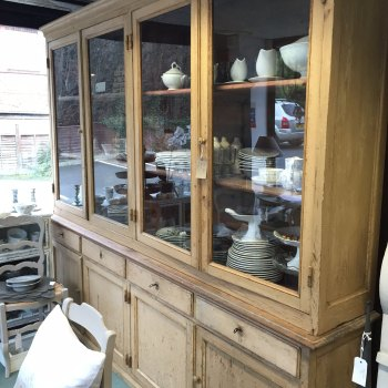 French school cabinet/bookcase c1900 SOLD