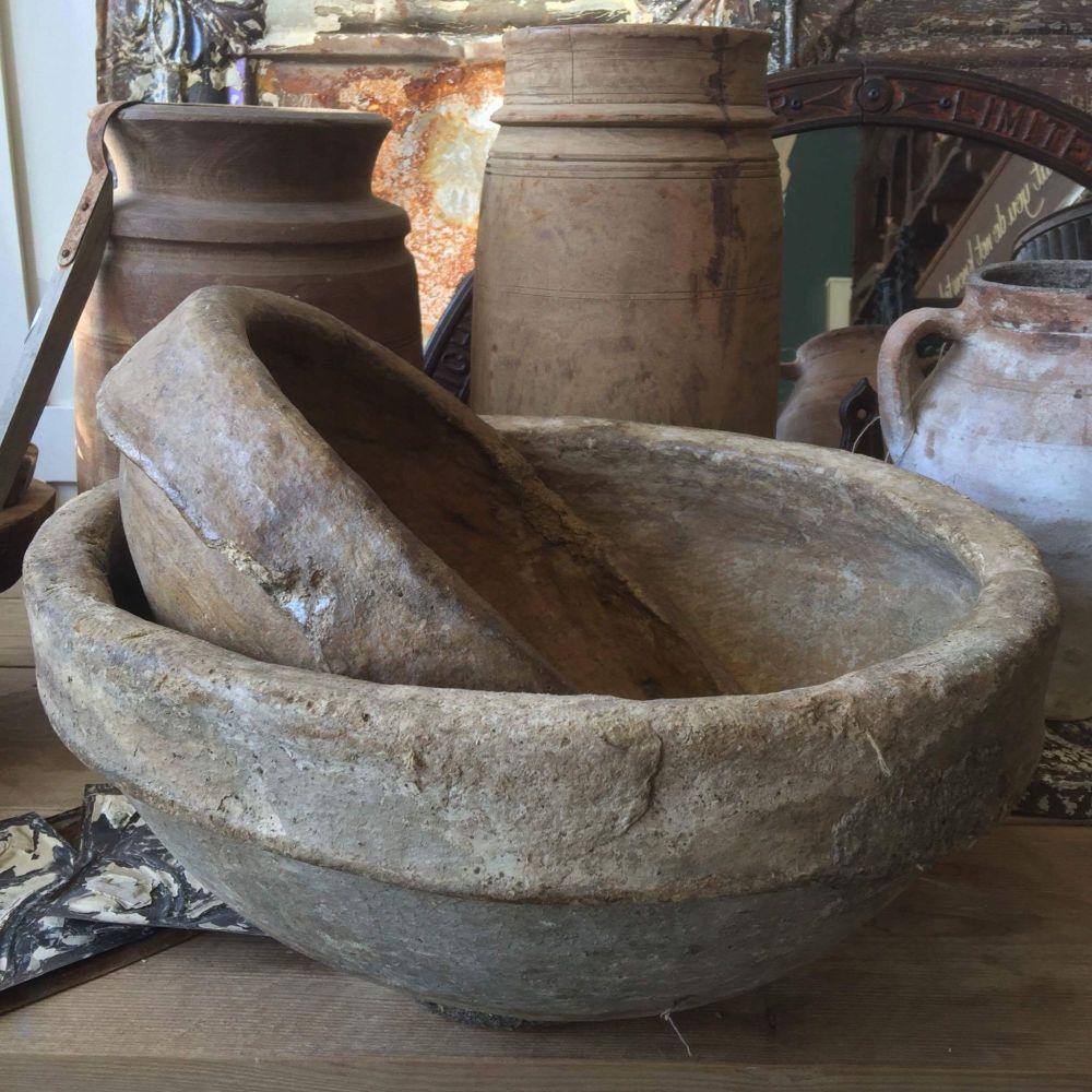 Indian papier mache bowl