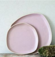 Beetroot side plate
