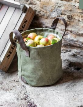Canvas garden bag