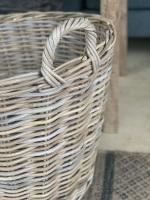 SOLD Log basket