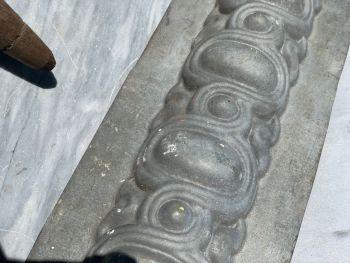 Decorative zinc panel/frieze