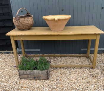 SOLD French scullery/prep table