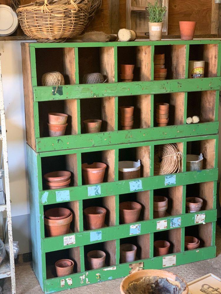 Vintage factory pigeon hole