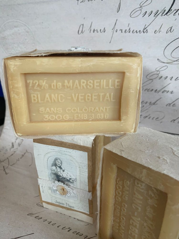 Marseilles natural french soap