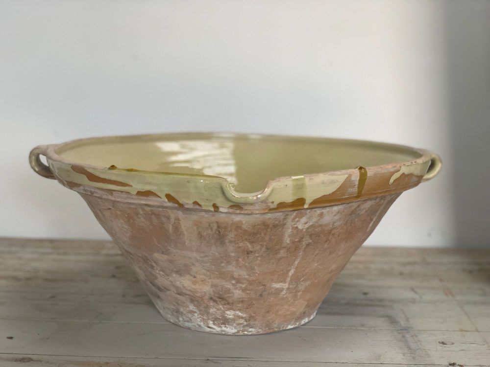 A superb very large French tian bowl