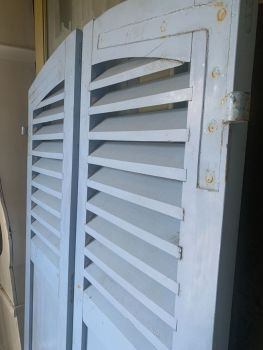 Pair of french Country House shutters