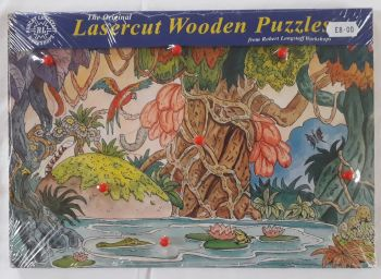 Robert Longstaff Jungle Wooden Peg Puzzle