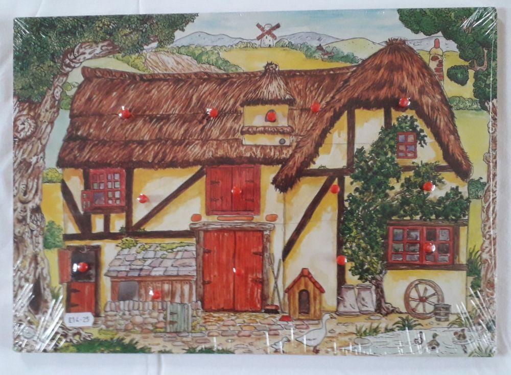Robert Longstaff Farmhouse Peg Puzzle