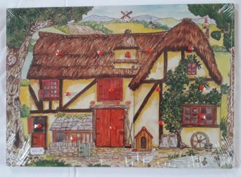 Robert Longstaff Farmhouse Peg Puzzle