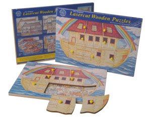 Noah's Ark Wooden Peg Puzzle